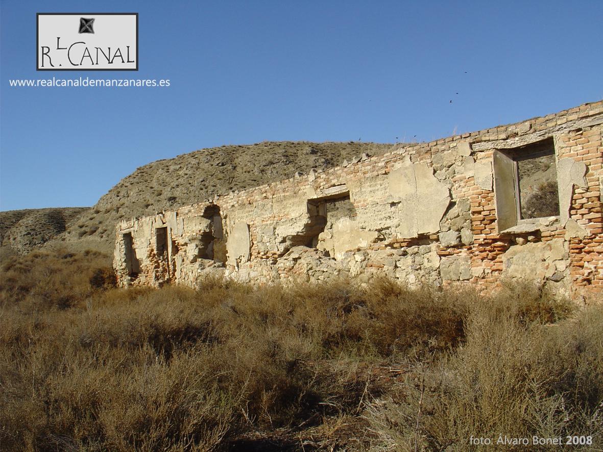 Casa de Los Alberges en ruinas. 2008