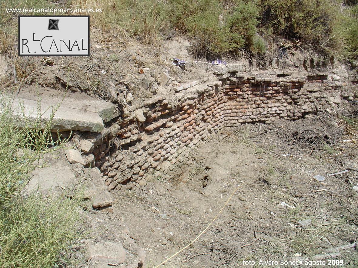 Puente de Cambroneras descubierto por A. Bonet y M. González en agosto de 2009