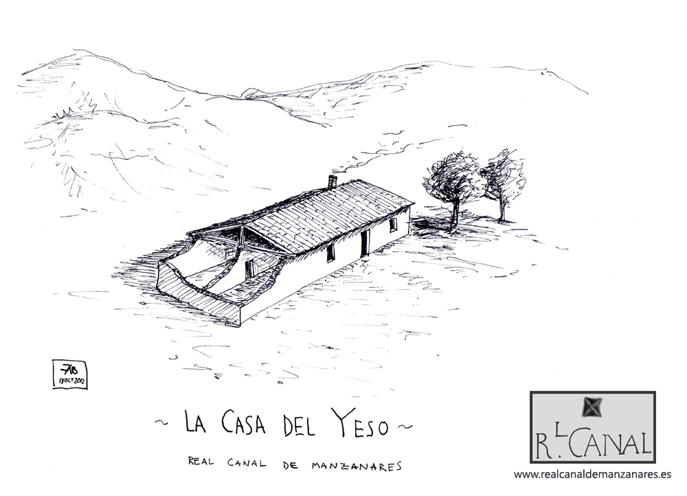 Perspectiva imaginaria de la Casa del Yeso. Por Álvaro Bonet