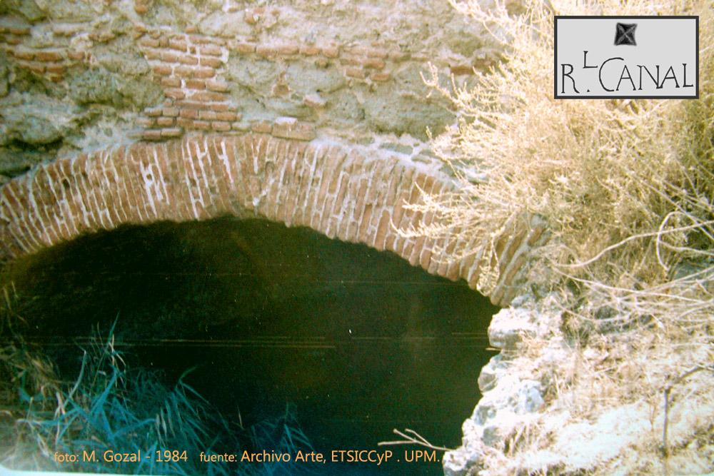 Detalle del puente de la Gavia