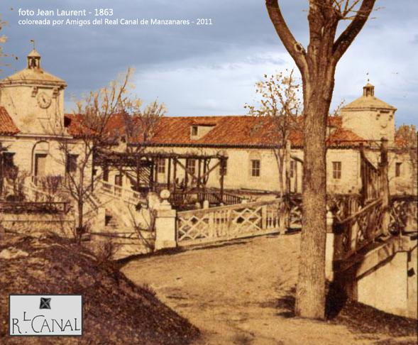 Embarcadero del Canal en 1863. Fot. Laurent