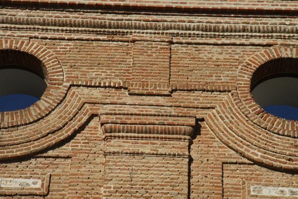 Detalle de la Iglesia de Perales del Río (Getafe)