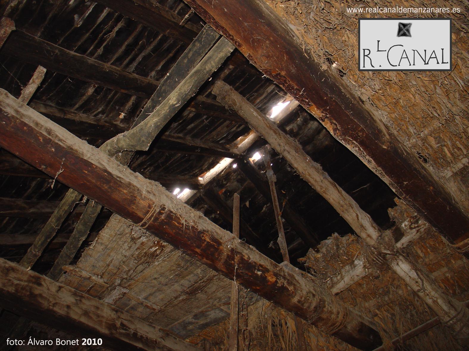 Interior de la casa de la Cuarta Esclusa